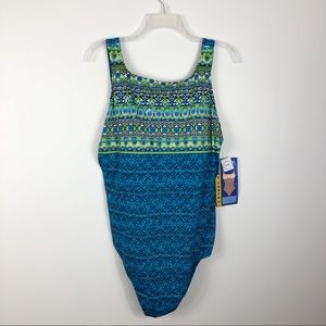 NWT Beach Native Tummy Control one Piece Swimsuit